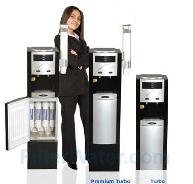 Crystal Quest Turbo Premium and Regular Bottleless Water Coolers