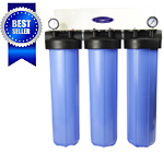 Filter Water: High Flow Whole House Triple Filter