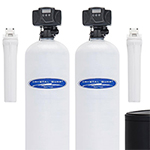 Nitrate and Whole House Water Filter Dual Tank