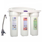 Under Sink Triple Water Filter for Oil and VOCs