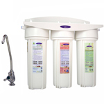 Undersink Water Filter Triple with Nitrate Removal