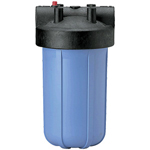 Filter Water: 10 x 4.5 Inch Big Blue Filter Housing