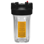 Clear Water Filter Housing BB 3/4 inch