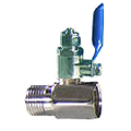 T-Valve Adapter for Metal Water Line