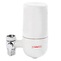 Faucet Water Filter Crystal Quest White