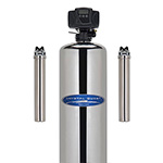 Stainless Whole House Iron and Sulfur Water Filter