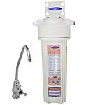 Undersink Water Filter Single, Removes Fluoride