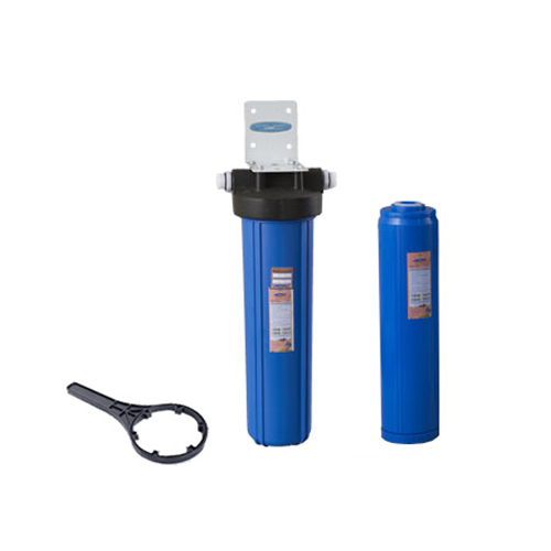 Big Blue Whole House Water Filter 20x5 Single Cartridge CQE WH