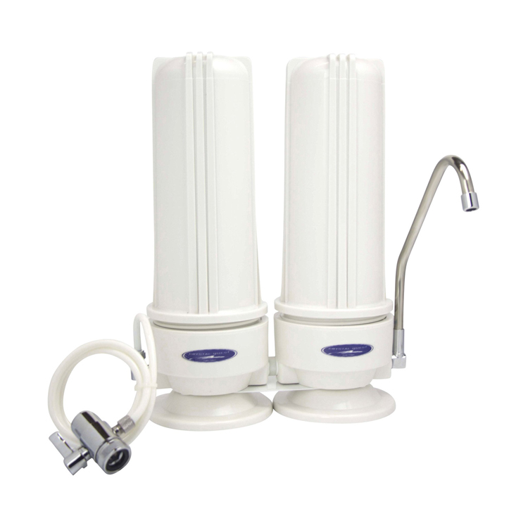 Countertop Water Filter : Countertop Nitrate Removal Water Filter with Two Filters , CQE-CT ...
