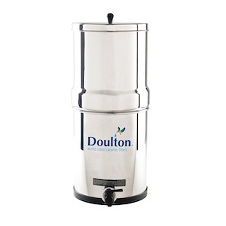 W9361122 Doulton Ss 2 Gravity Fed Filtration System