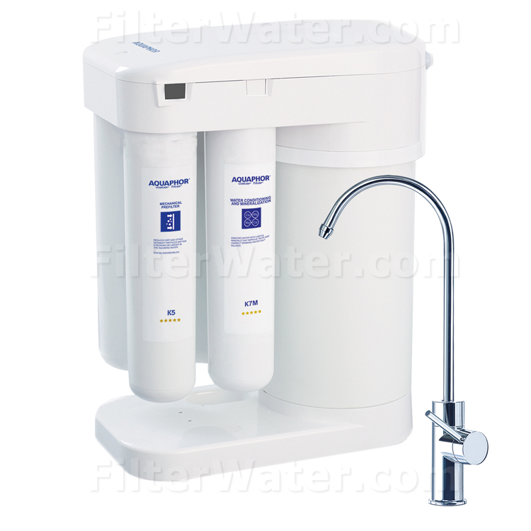 Aquaphor Under Sink Water Filtration System With RO FW DWM 101, FW