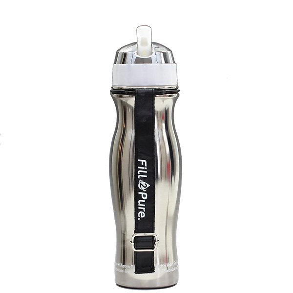 21d51bc99a Seychelle Stainless Steel Water Bottle With Filter, SCH-09