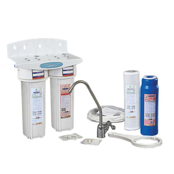crystal quest dual undersink water filter cqeus00306 cqeus - Under Sink Water Filter