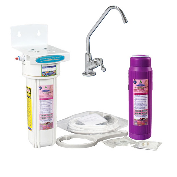 Undersink Water Filter With Fluoride Removal