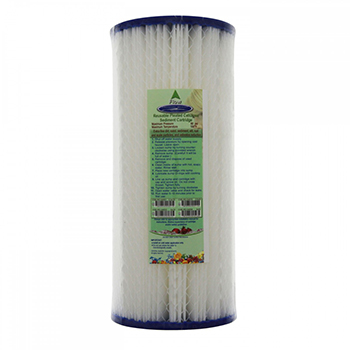 "Pleated Sediment Filter Cartridge CP5BB 10""x4.5"", CQ-R14-10x5"