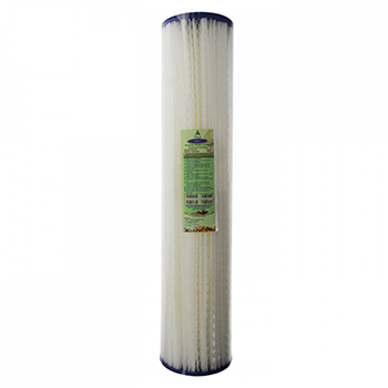 Pleated Sediment Filter Cartridge 5-micron 20x5 inch, CQ-R14-20x5
