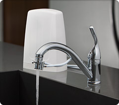 Aquasana Countertop Water Filter Dual Filter Aq 4000