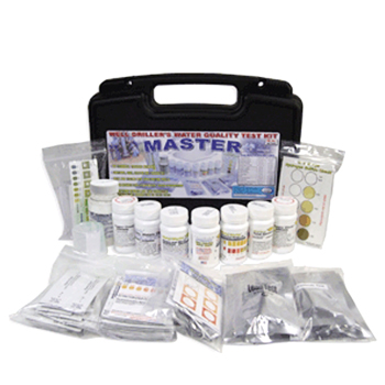 Filter Water: Well Driller Master Test Kit