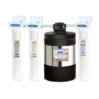 Saltless Water Softener w/ 4 Stages of Filtration