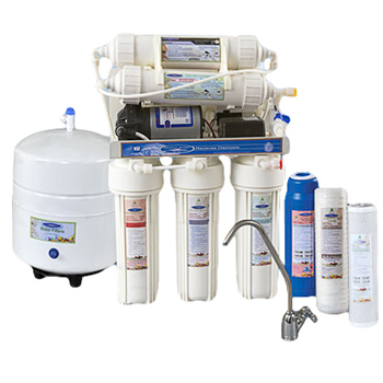 Thunder 1000CP Reverse Osmosis Water Filter System with Pump RO, CQE-RO-00105
