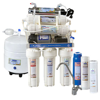 Thunder 4000MP Reverse Osmosis System +UF with pressure pump by Crystal Quest, CQE-RO-00116