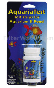 Ammoina Aquarium and Pond Test Strips AquariaTest