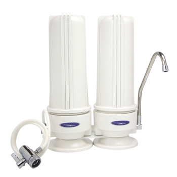 Countertop Nitrate Removal Water Filter with Two Filters , CQE-CT-00154