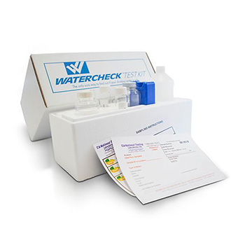 WaterCheck Laboratory Analysis Water Testing Kit NTL 83 contaminants
