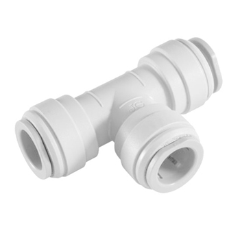 Union Tee Quick Connect Fittings Polypropylene, GAM-UT14