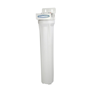 Crystal Quest 20x2.5 Water Filter Housing, White, CQE-PT-03379