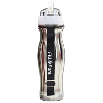 Seychelle Stainless Steel Water Bottle With Filter, SCH-09
