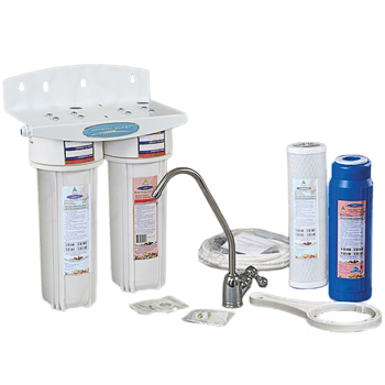 Crystal Quest Dual Undersink Water Filter CQE-US-00306, CQE-US-00306