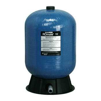 Pressurized Reverse Osmosis Water Storage Tank 15 - 30 gallons, RO-MATE