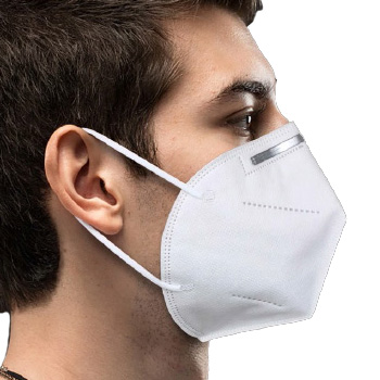 KN95 Disposable Face Masks 95 Percent Filtration 5 Layer, FWKN95