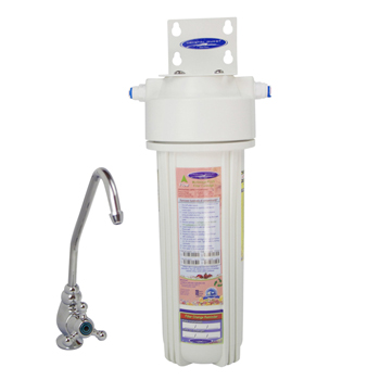 Undersink Water Filter with Fluoride Removal , CQ-W12F-PLUS