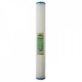"Pleated Sediment Filter Cartridge 20"", CQ-R16-20"