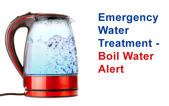 Boil Water Alert: Emergency Water Treatment