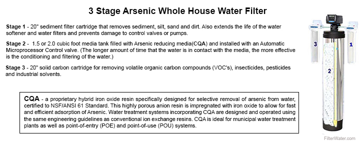Arsenic Whole House 3 Stage