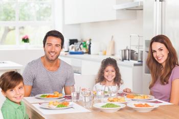 Happy Family Dinner