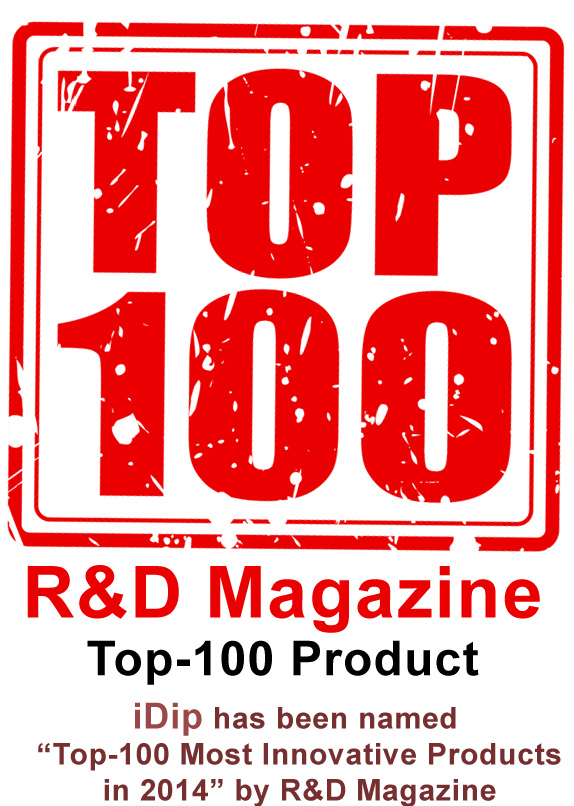 Top-100 Most Innovative Products by R&D Magazine