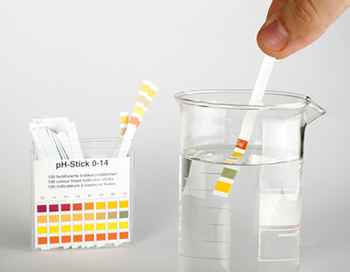 Water test strips, test your water