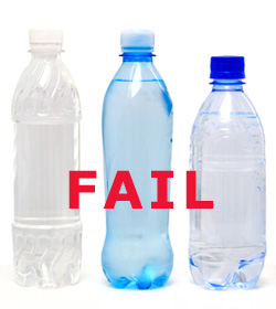 Bottled Water: FAIL