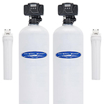 Fluoride and Whole House Filter Dual Tank