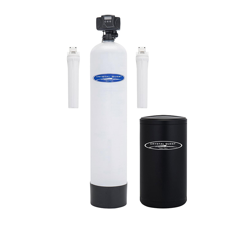 Crystal Quest CQE-WH-01123 Water Softener with Automatic Backwash - 1.5 cu.ft.