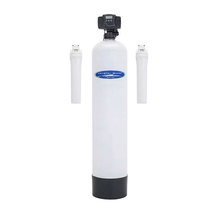 Crystal Quest CQE-WH-01195 Iron Hydrogen Sulfide and Manganese Whole House Filter - 1.5 cu.ft