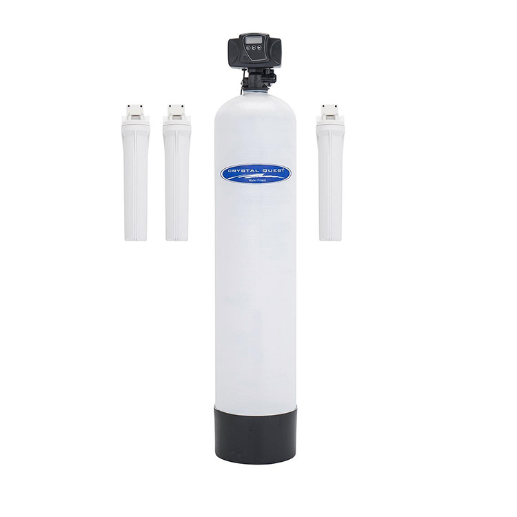 Home water filter with automatic backwash eagle a fg