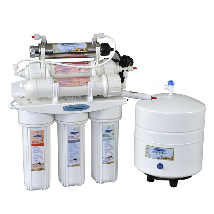 Crystal Quest CQE-RO-00103 Thunder 3000C RO+UF Reverse Osmosis System by Crystal Quest - 50 GPD