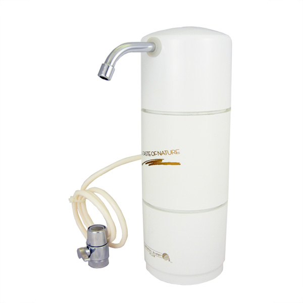 Crystal Quest Countertop-FWF Fluoride water filter no cartridge Multi PLUS