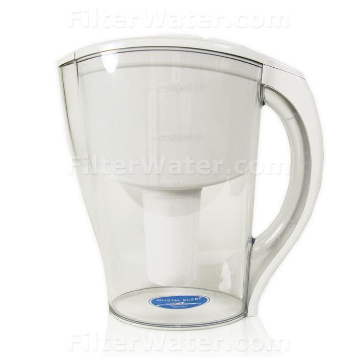 Pitcher-Ultimate Pitcher Water Filter by Crystal Quest, 5-stage Filtration