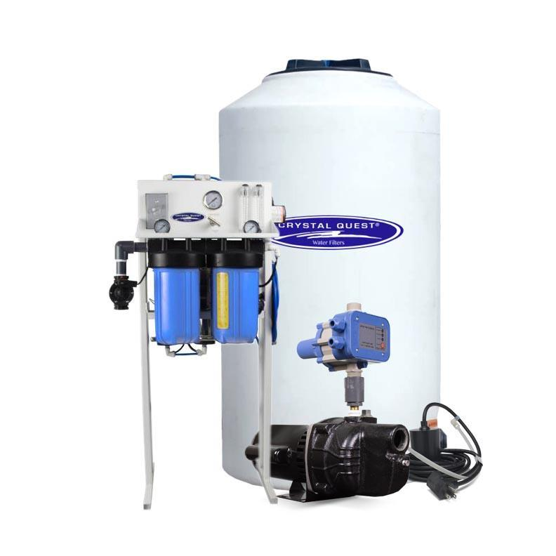 Crystal Quest CQE-CO-02024 Commercial Reverse Osmosis System 500 gpd